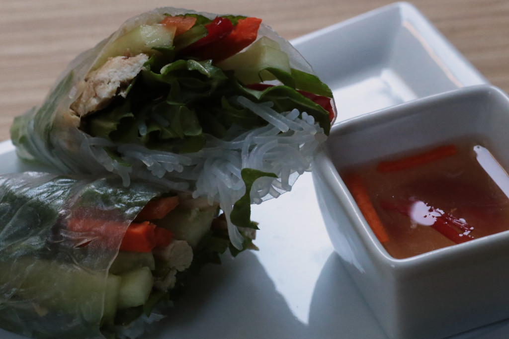Spring Rolls with Nuoc Cham
